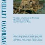 Confronto letterario 52 Quaderni di letterature straniere moderne e comparate dell'Università di Pavia