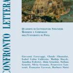 Confronto letterario 54 Quaderni di letterature straniere moderne e comparate dell'Università di Pavia