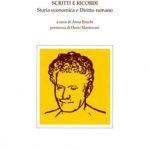 Scritti e ricordiStoria economica e diritto romano